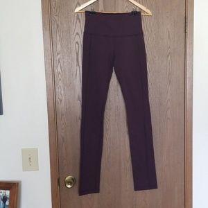 Lululemon Purple High Rise Tights Full length 4